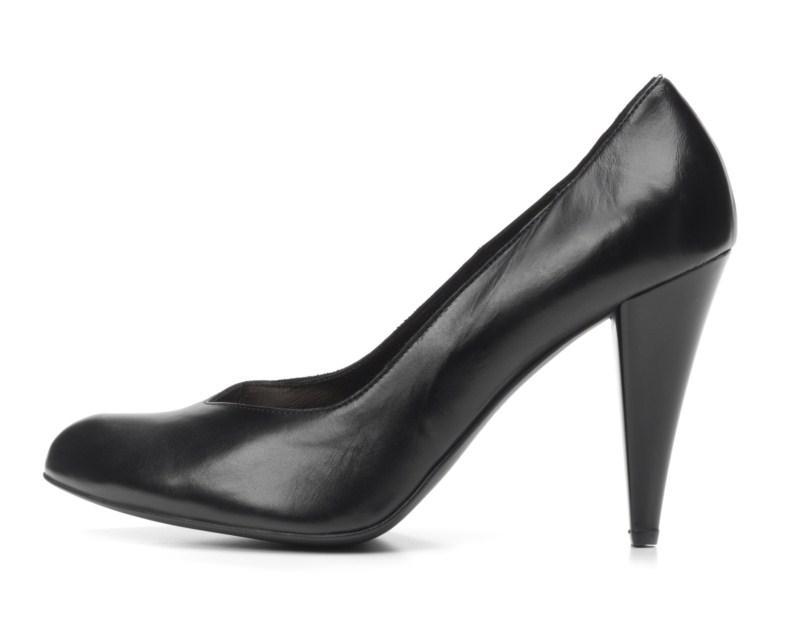 czarne pantofle Ryłko - wiosna 2011