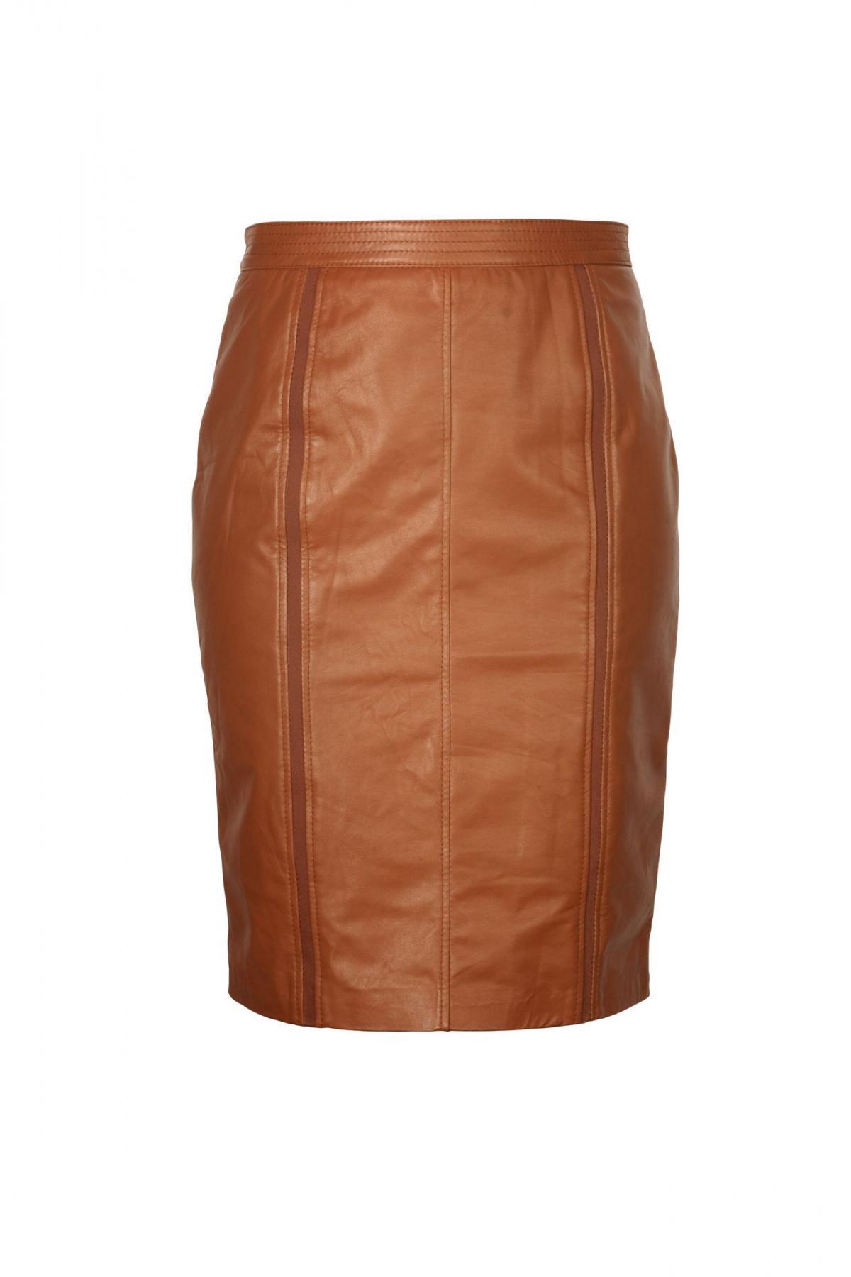 brązowa spódnica Ochnik  - trendy 2013