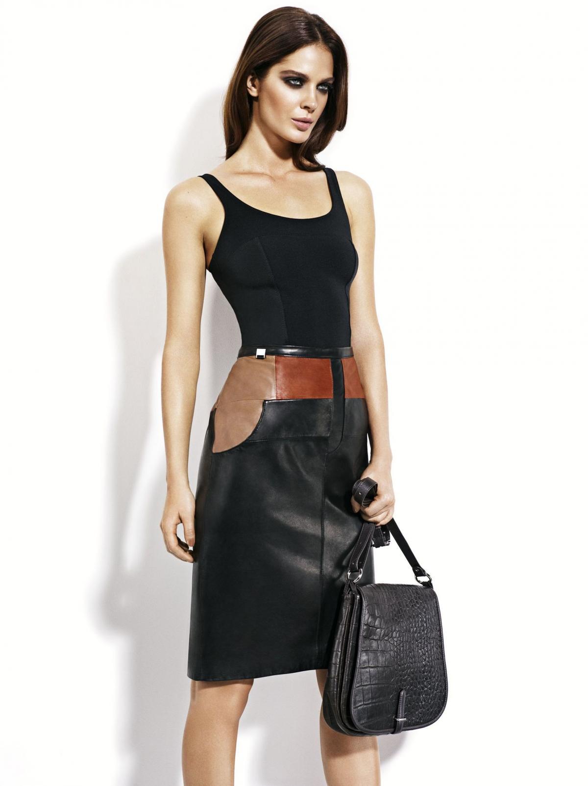 czarna torebka Ochnik  - trendy 2013