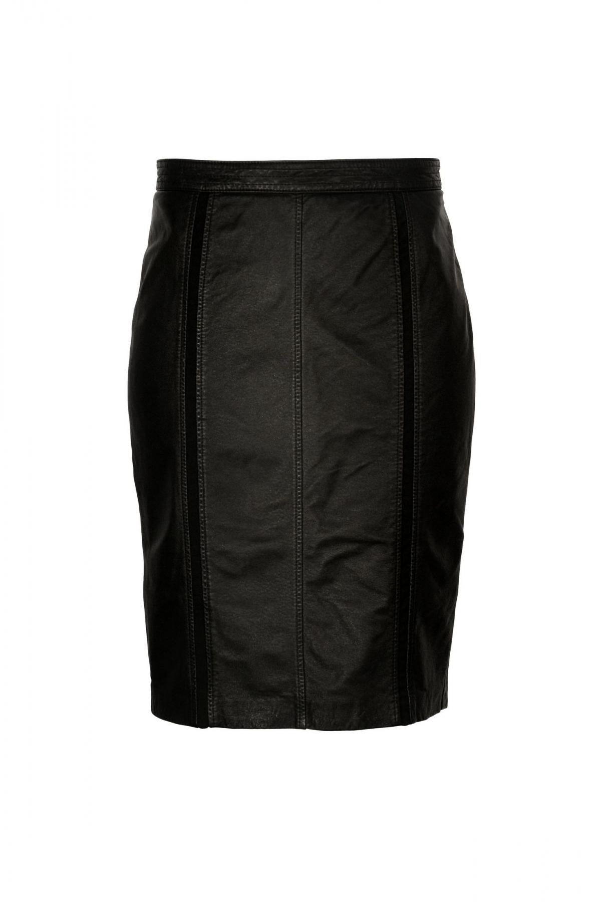 czarna spódnica Ochnik  - kolekcja wiosenno-letnia