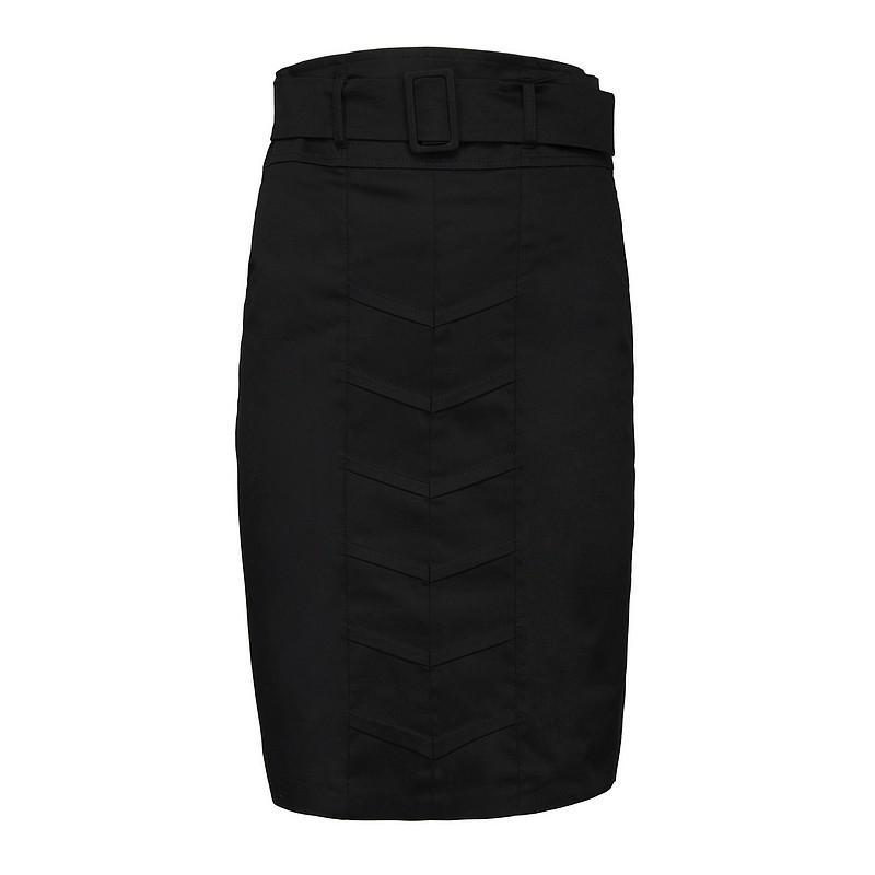 czarna spódnica Pretty Girl ołówkowa - moda jesień/zima 2010