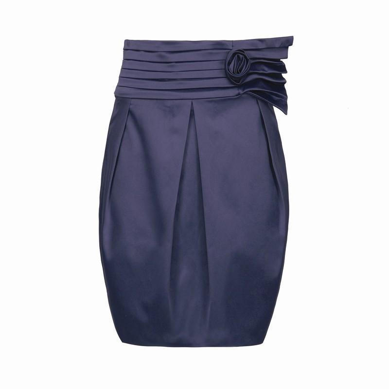 granatowa spódnica Pretty Girl - z kolekcji jesień-zima