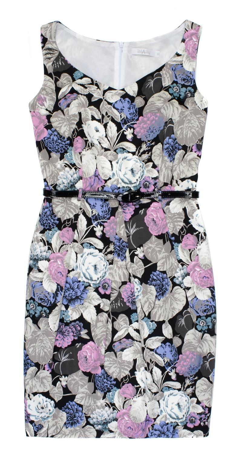 sukienka w kwiaty TARANKO - wiosna-lato 2011