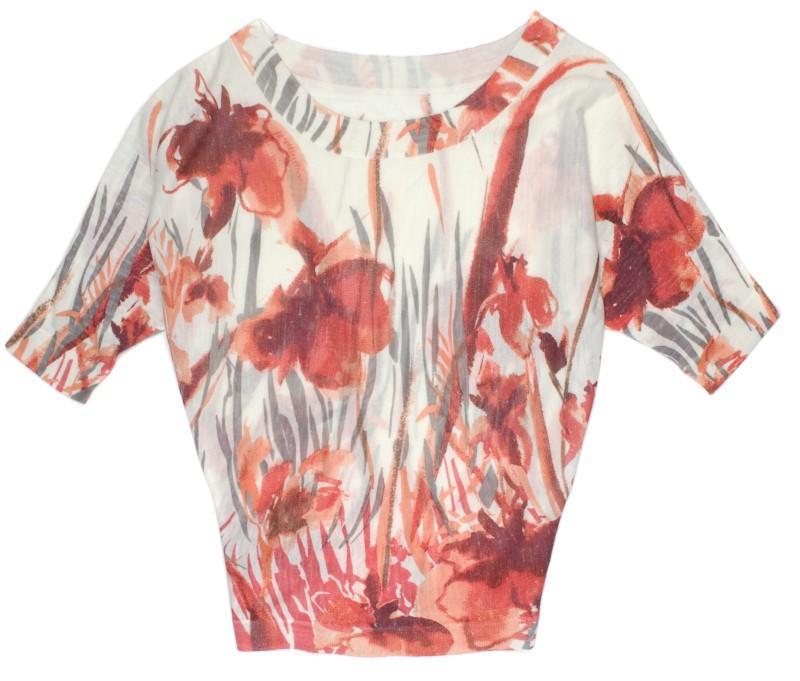 sweter w kwiaty TARANKO - wiosna-lato 2011