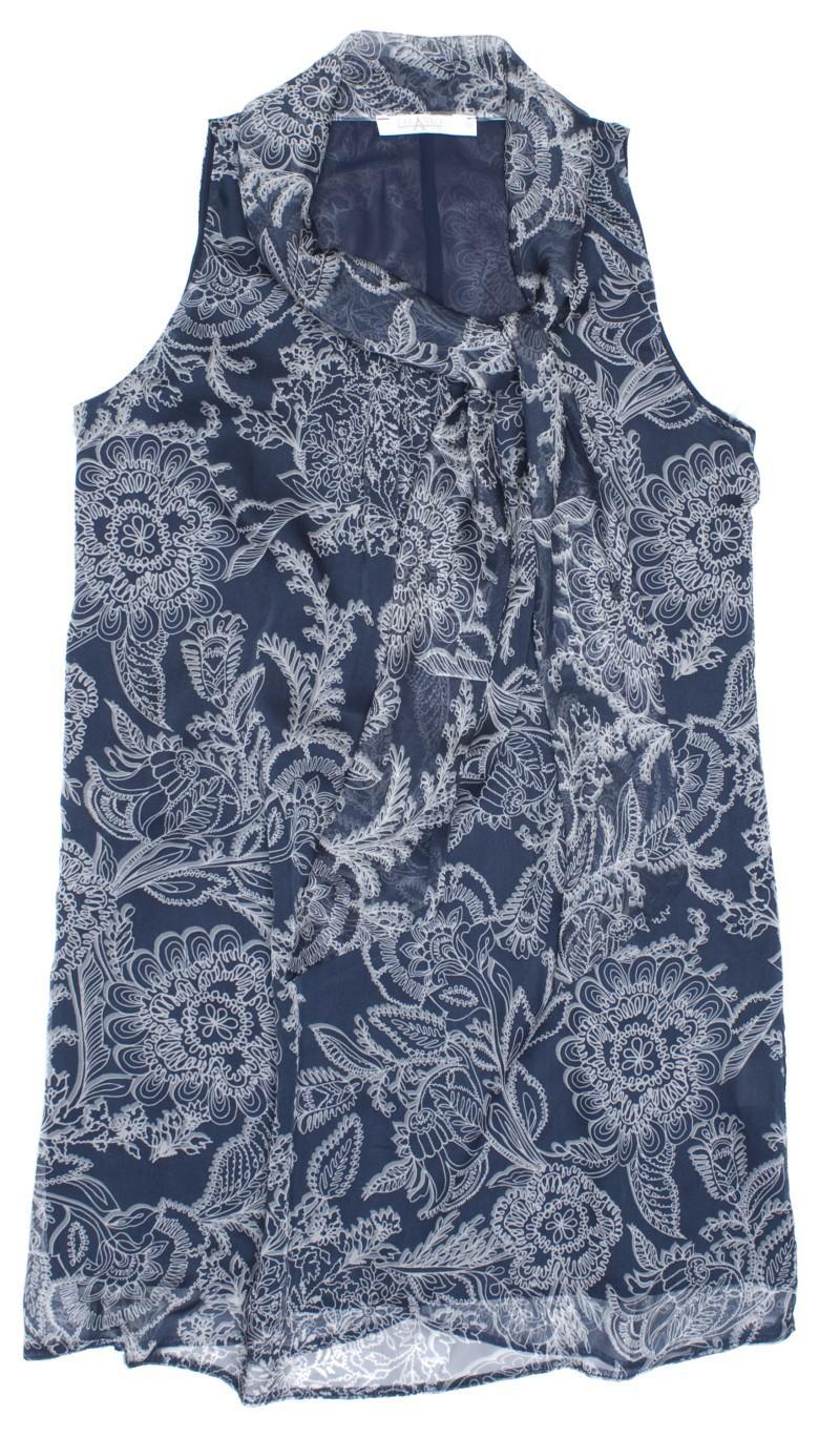 niebieska bluzka w kwiaty TARANKO - wiosna-lato 2011