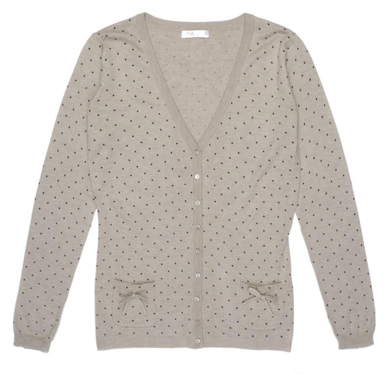 szary sweter w kropki TARANKO - wiosna-lato 2011