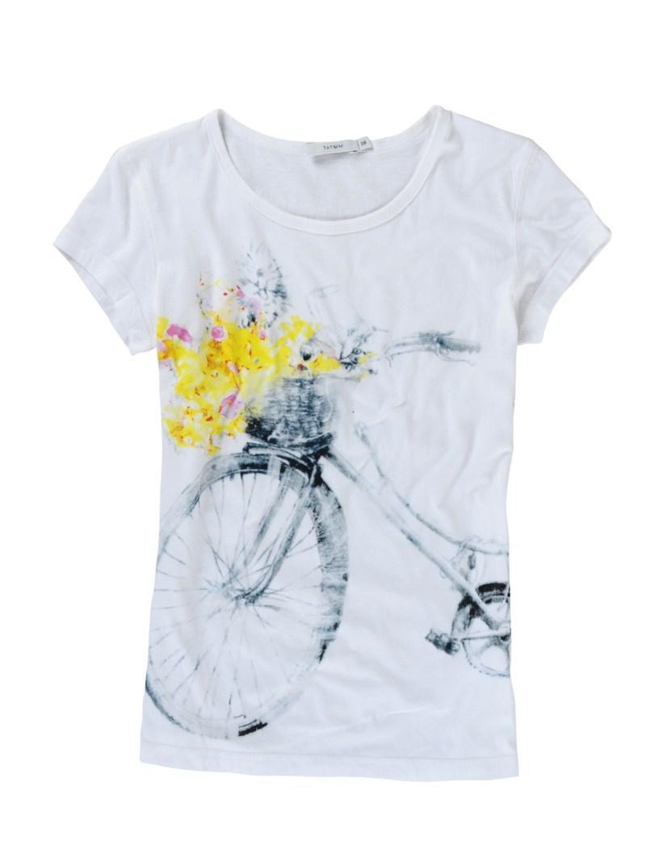 biały t-shirt Tatuum z aplikacją - sezon wiosenno-letni