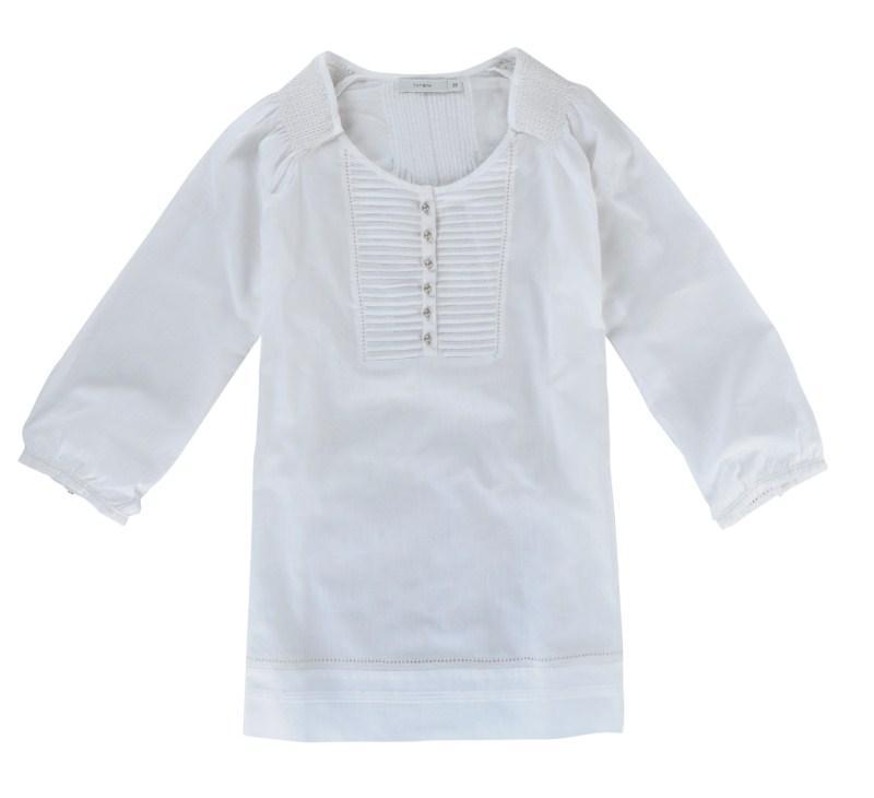biała bluzka Tatuum - wiosna-lato 2011