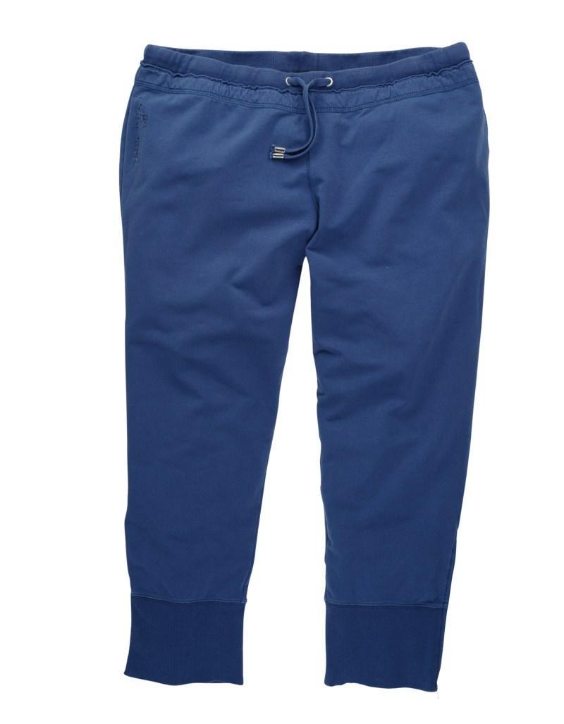 niebieskie spodnie Tatuum rybaczki - moda wiosna/lato