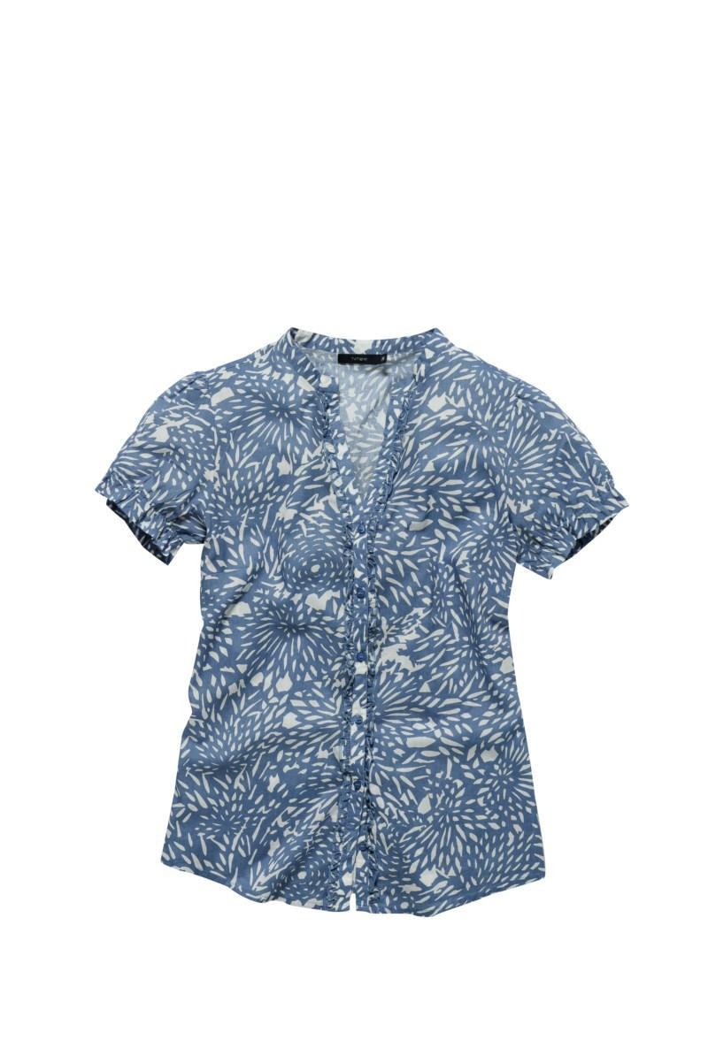 niebieska koszula Tatuum w kwiaty - kolekcja wiosenno/letnia