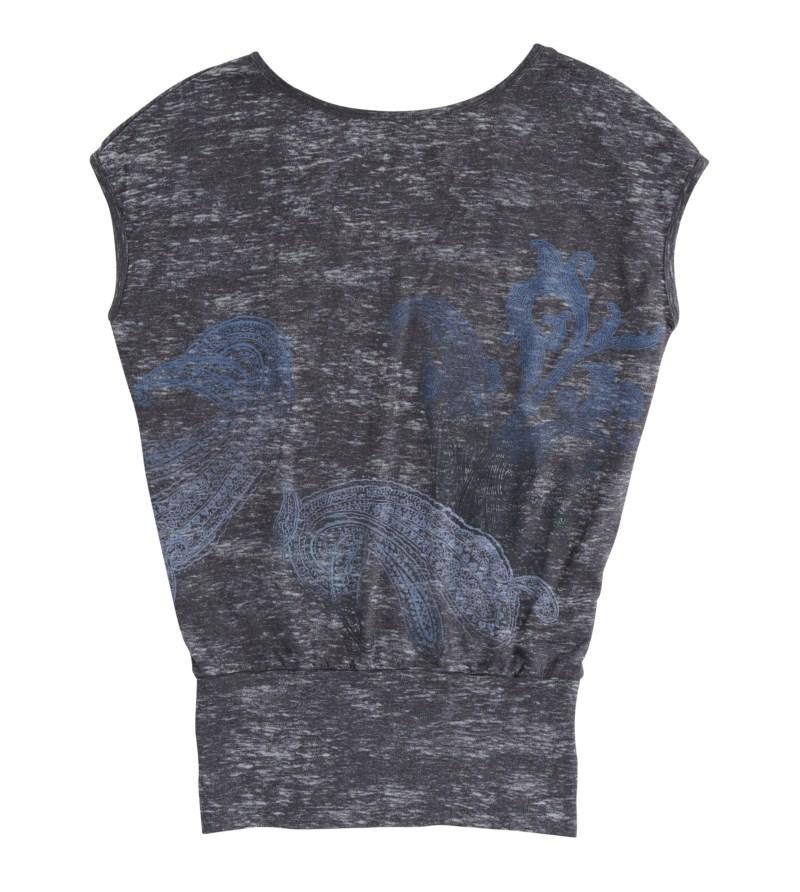 grafitowa bluzka Tatuum z aplikacją - kolekcja wiosenno/letnia