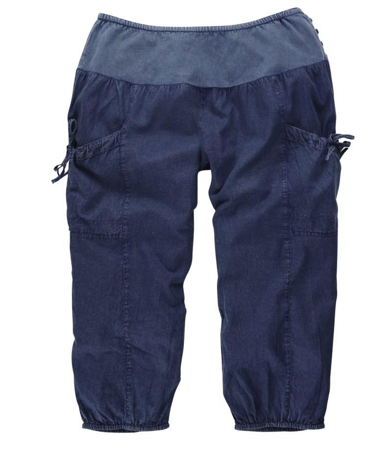 granatowe spodnie Tatuum rybaczki - wiosenna kolekcja