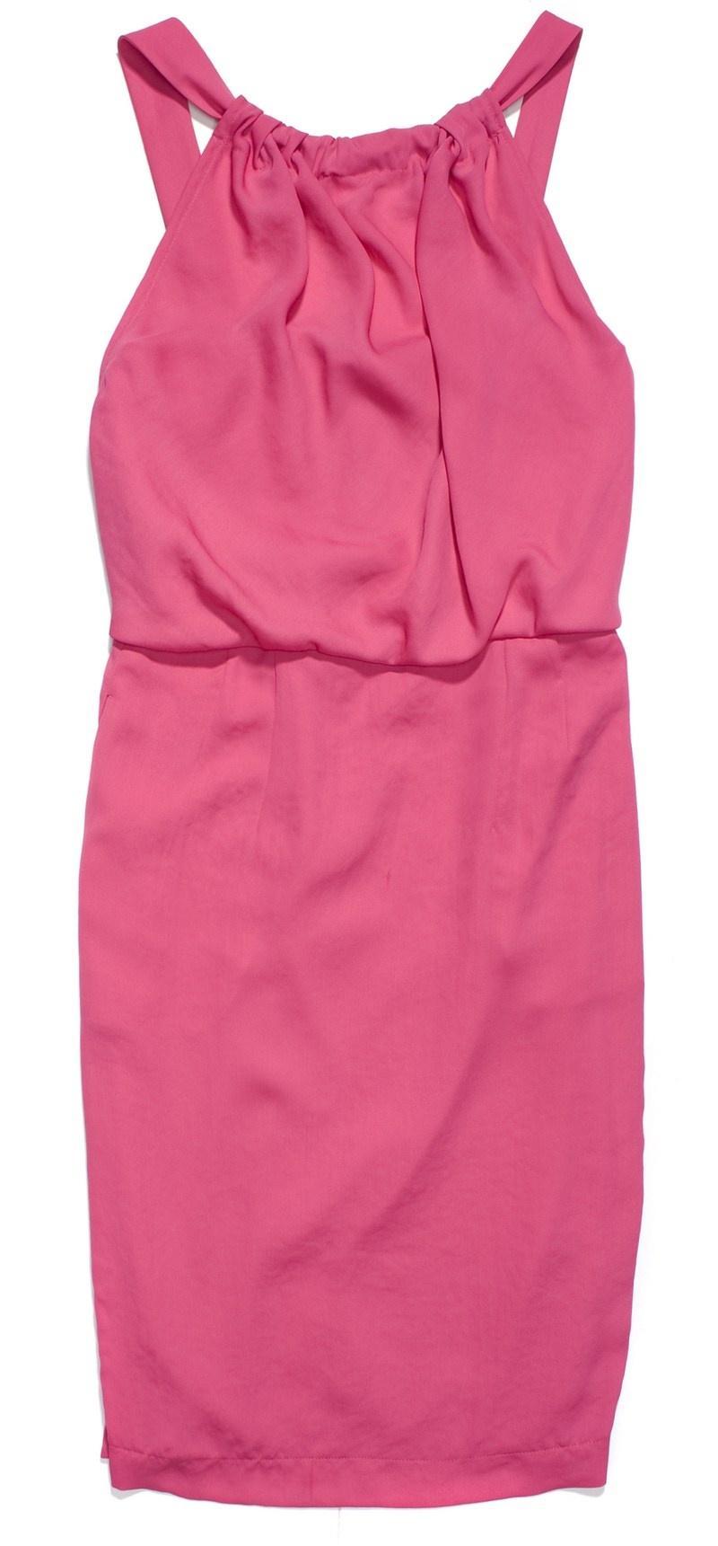 różowa sukienka - wiosna/lato 2012
