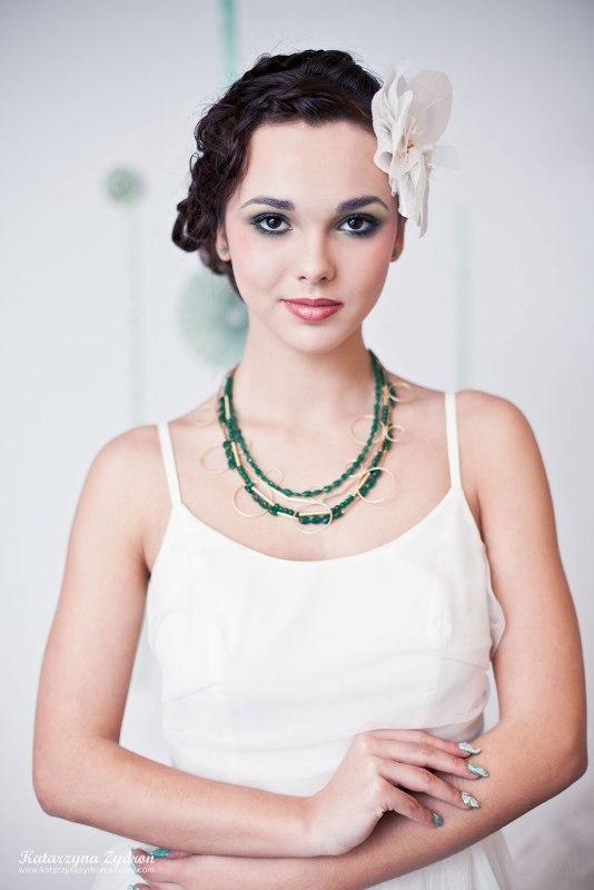Miętowa moda ślubna
