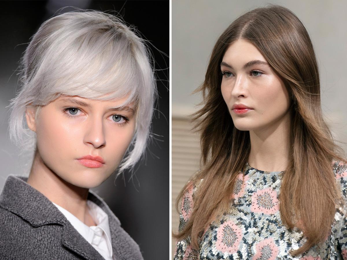 Modne kolory włosów 2020 chłodne odcienie