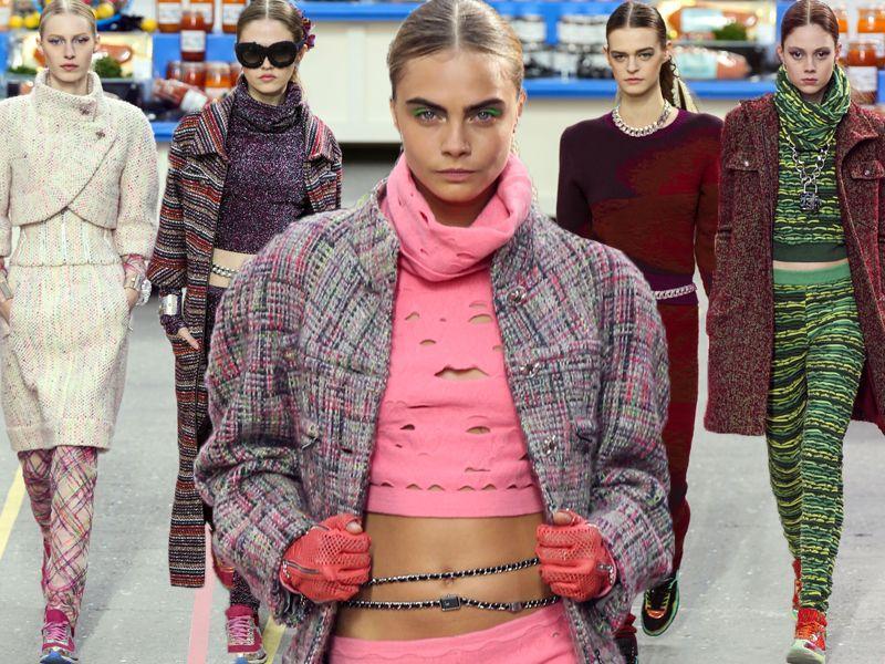 bbce188f11 Chanel jesień-zima 2014 2015 - Paris Fashion Week - Trendy sezonu ...