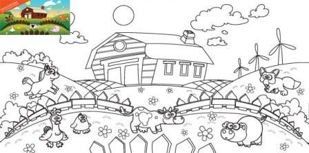 Minka, kolorowanka, dla dzieci