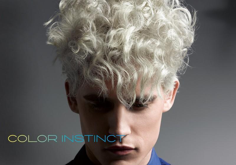Blond Loki Fryzura Męska Kolorowe Fryzury Zainspirowane