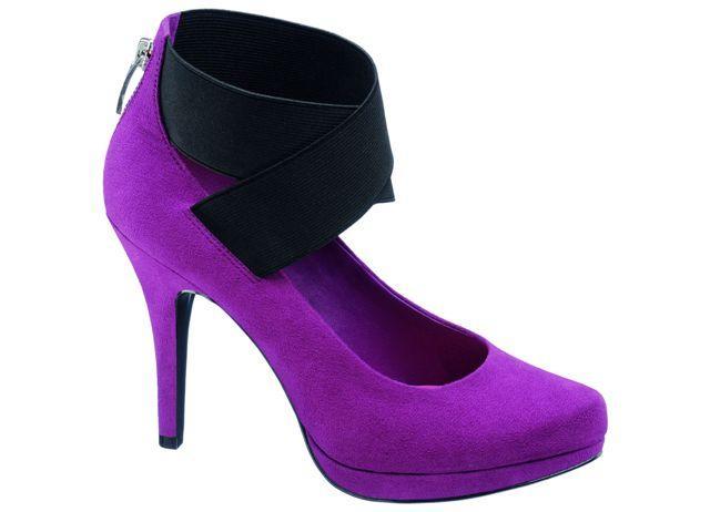 Kolorowe i stylowe buty na imprezę i karnawał 2011 - galeria