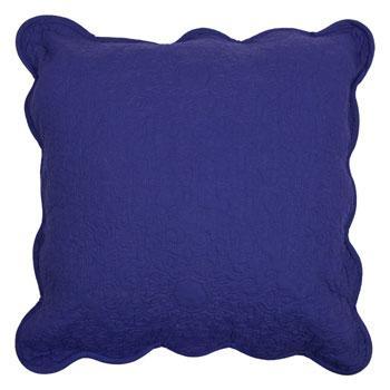 Dekoracyjna poduszka w kolorze granatu -trendy wnętrzarskie 2013