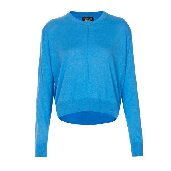 Niebieski sweterek, Topshop, cena