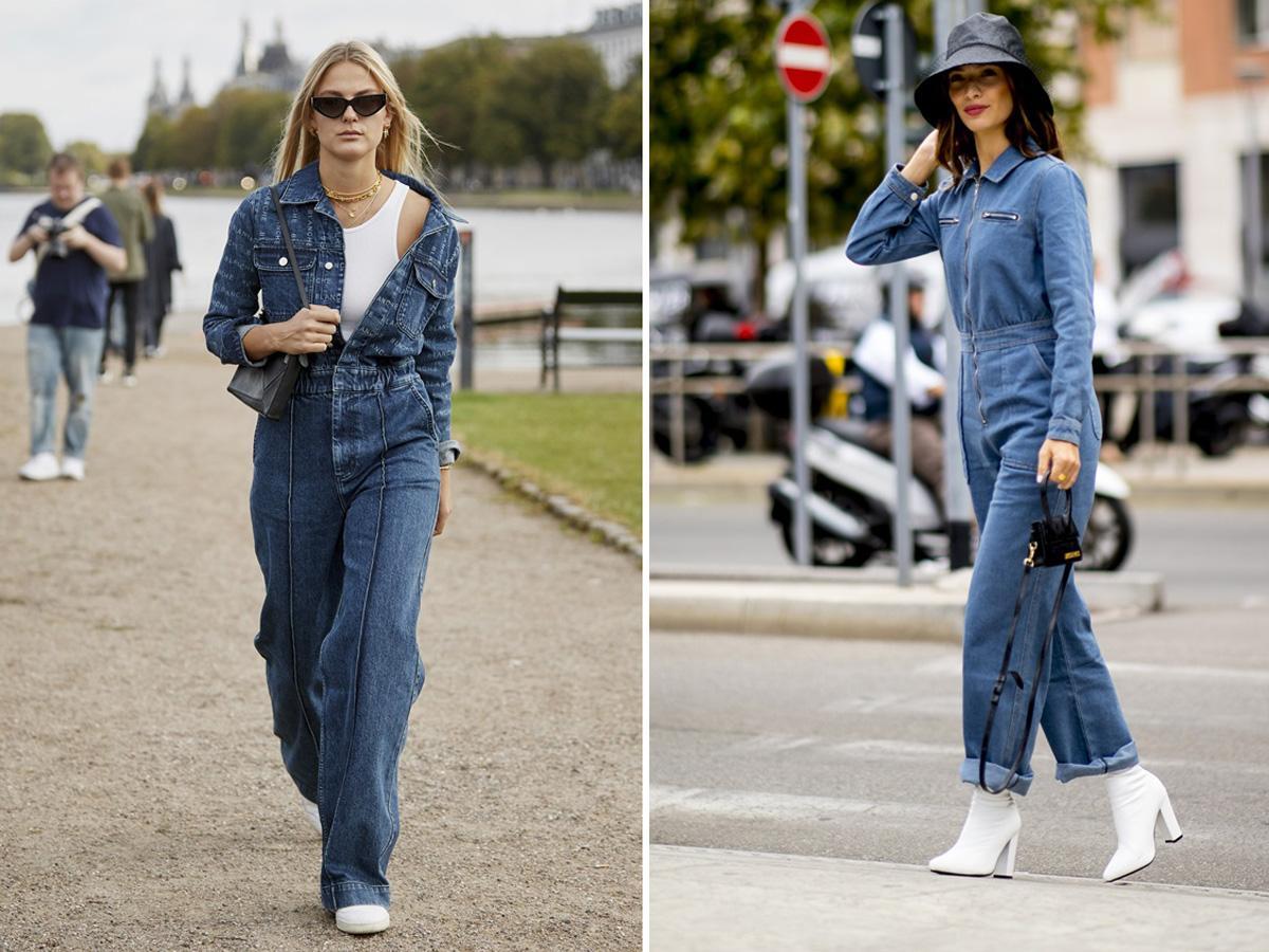 kombinezony wiosna 2020 jeansowe