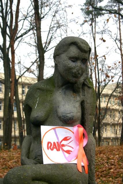 """II miejsce w konkursie """"Celujemy w piersi"""" organizowanym w ramach kampanii """"Breast Friends – Przyjaciele od Piersi""""/ fot. Marcin Banaszkiewicz"""