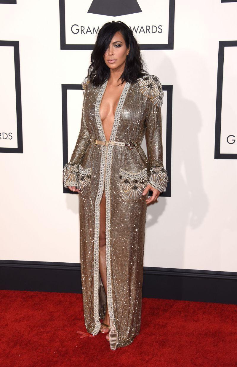 Nagrody Grammy 2015: Kim Kardashian