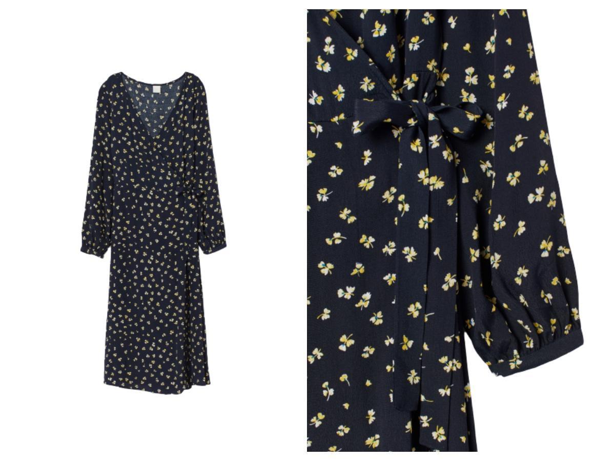 Sukienka kopertowa z H&M