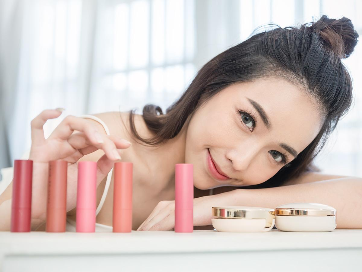 makijaż w stylu Koreanek