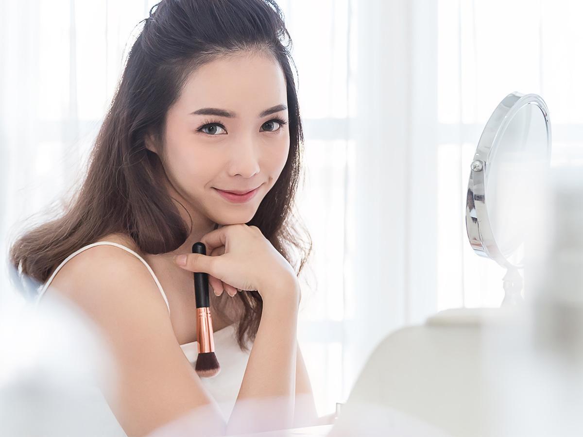 makijaż azjatycki