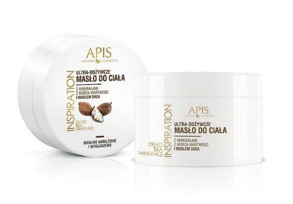 Ultra odżywcze rozświetlające masło do ciała z minerałami z Morza Martwego i masłem shea marki Apis Natural Cosmetics cena 24 zł