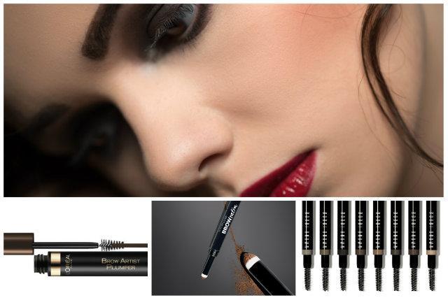 Kosmetyki do makijażu brwi - przegląd