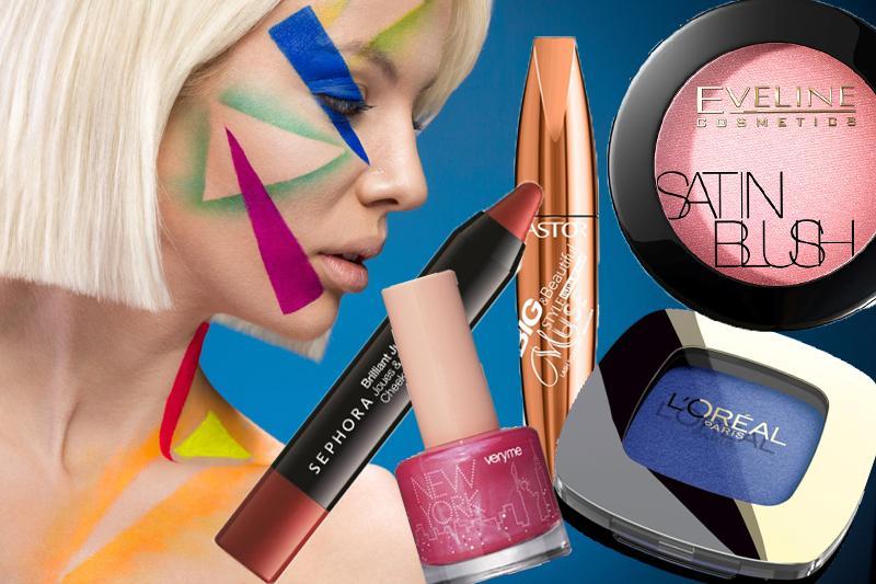 Kosmetyki kolorowe - nowości jesień 2014