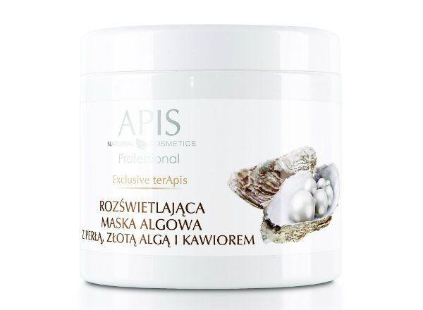 Exclusive terApis maska algowa z perla zlota alga i kawiorem, Apis, cena: ok. 65 zł.