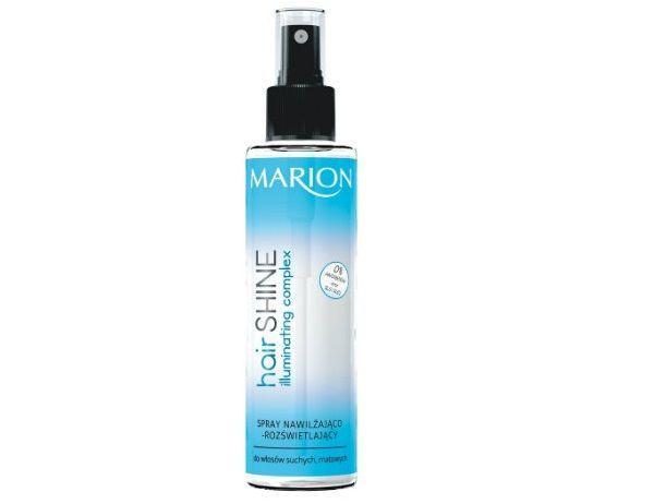 hair Shine Spray nawilżająco-rozświetlający MARION