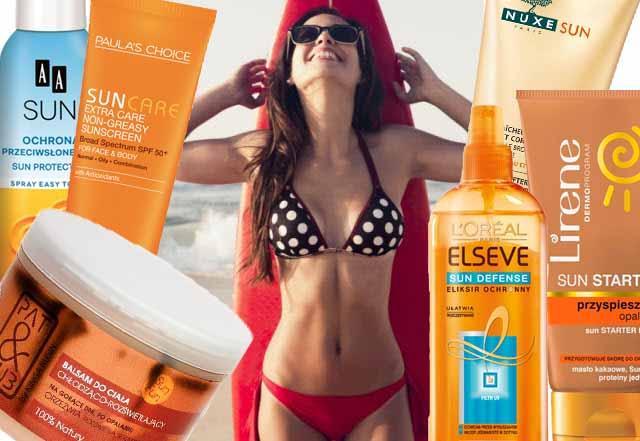 Kosmetyki na słońce - nasze typy