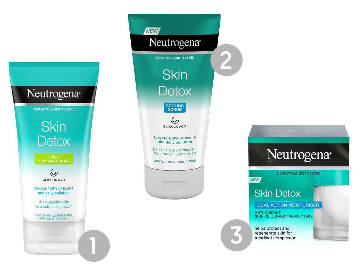 Kosmetyki do twarzy Neutrogena - Skin Detox