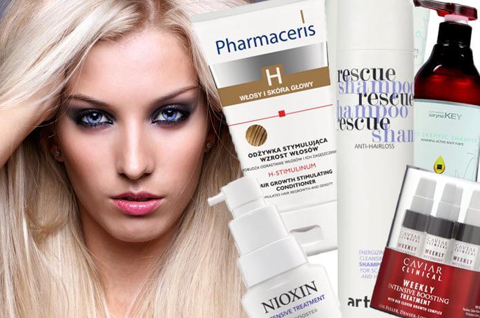 Kosmetyki przeciw wypadaniu włosów