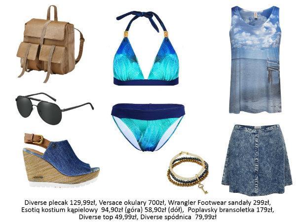 Kostium kąpielowy a sylwetka - modne zestawy plażowe