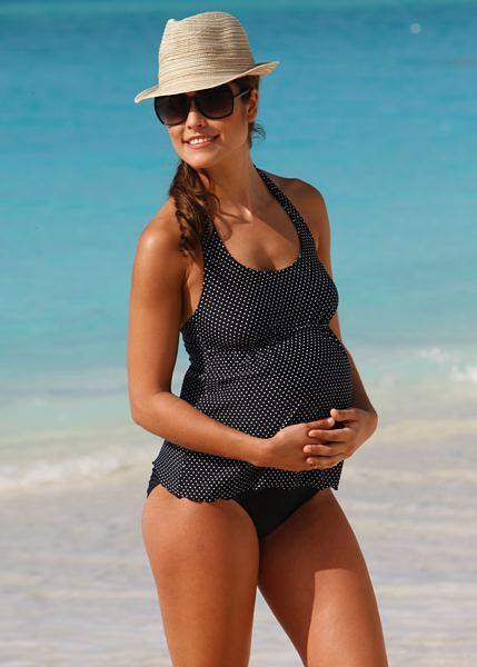 Kostiumy kąpielowe dla kobiet w ciąży - przegląd