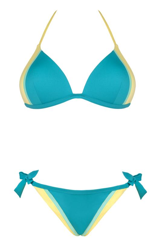 niebieskie bikini Lupoline - lato 2013