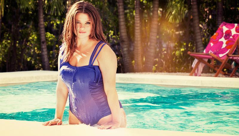 Kostiumy kąpielowe plus size H&M - lato 2012