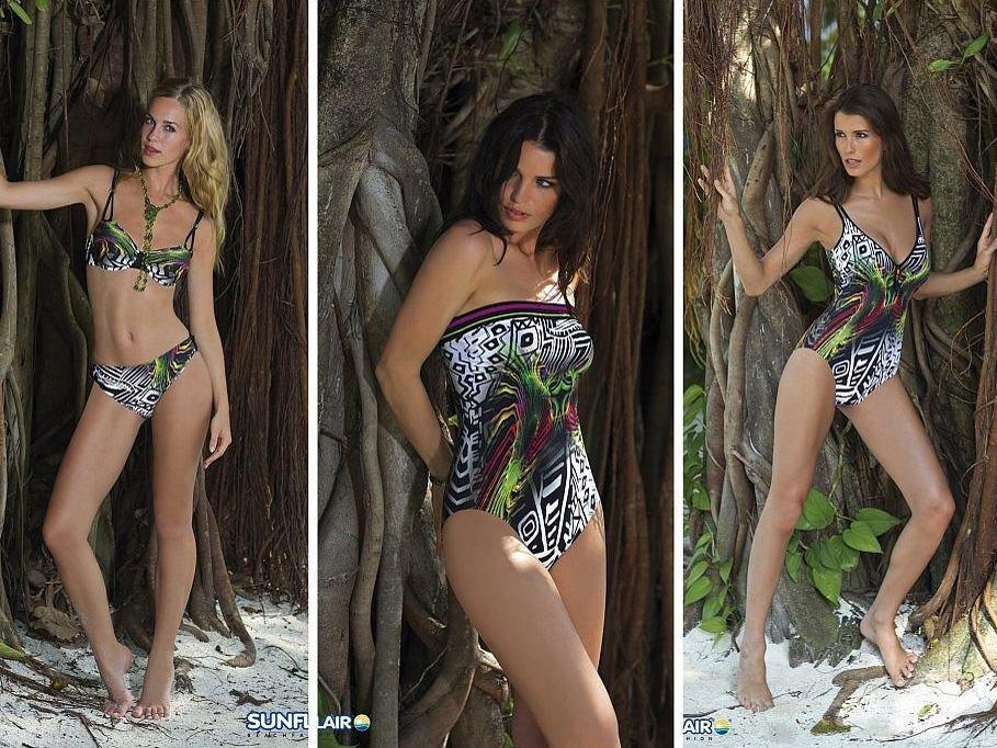 Kostiumy kąpielowe Sunflair - lato 2012