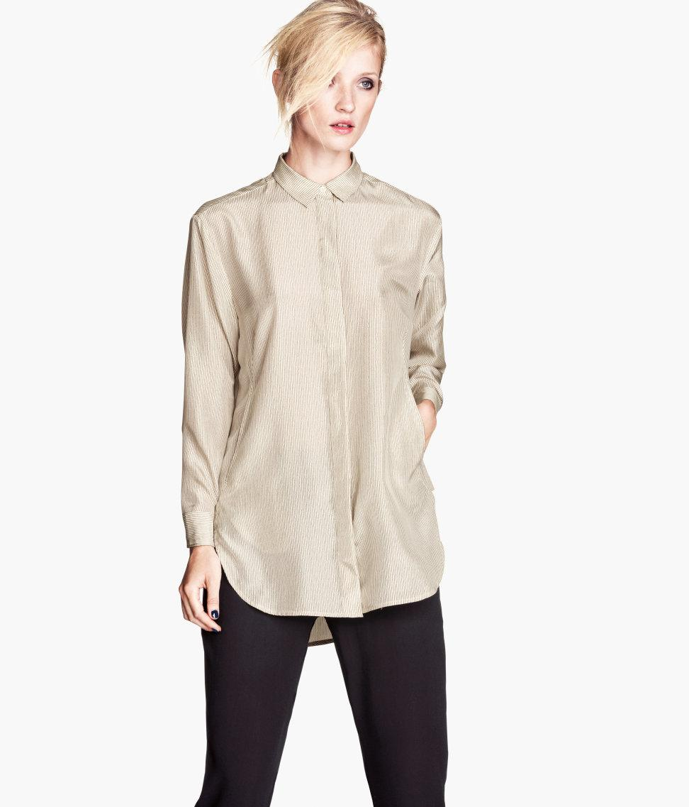 Koszule i bluzki – najnowsze trendy online | H&M PL