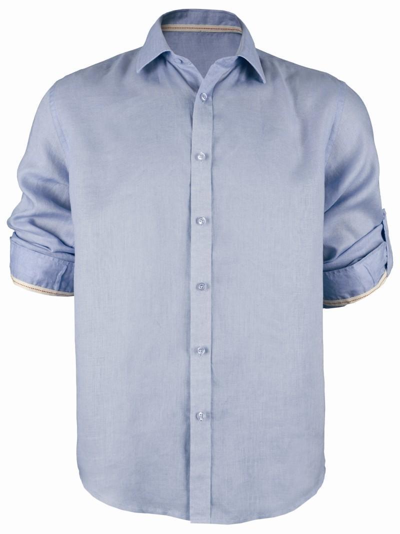 niebieska koszula Top Secret - moda 2011