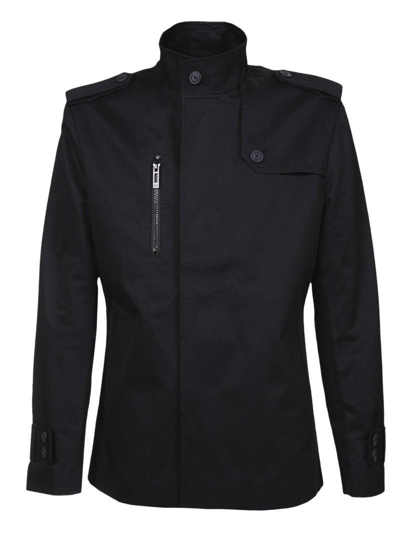 czarna kurtka Top Secret z zamkiem - wiosna-lato 2011