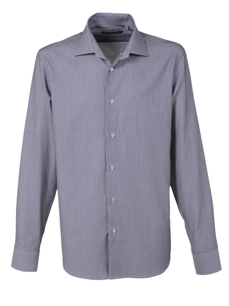 popielata koszula Top Secret w paski - wiosna-lato 2011