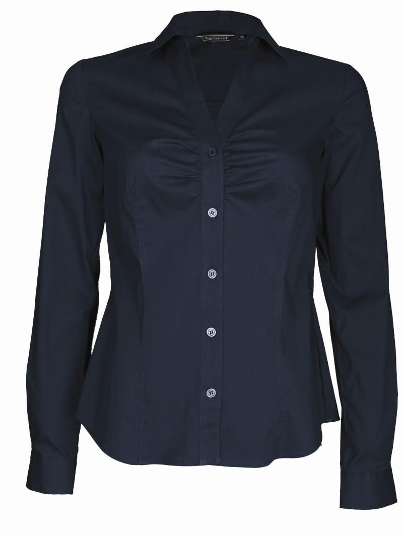 granatowa koszula Top Secret - trendy wiosna-lato