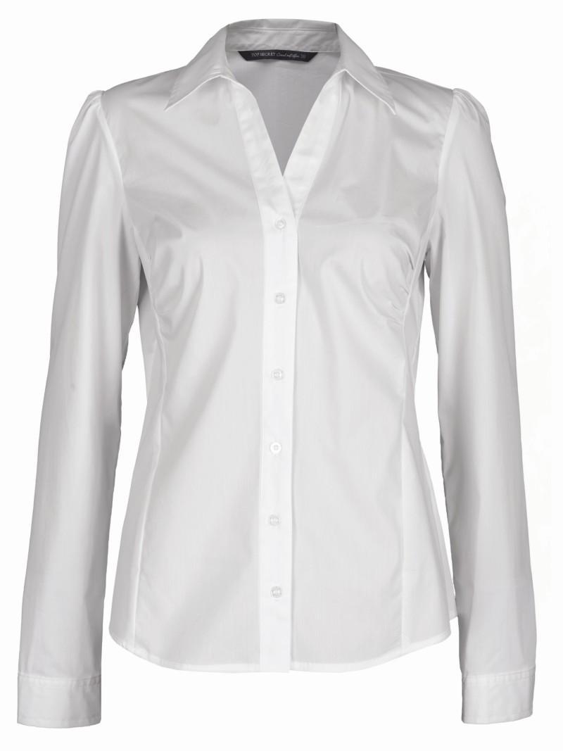 biała koszula Top Secret - moda wiosna/lato